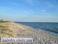 Кинбурнская коса пляж
