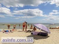 Одесская область. Отдых на пляже