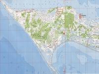 Топографическая карта Кинбурнской косы