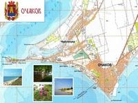 Карта Очакова